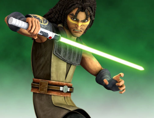 The Handsome Rogue of a Hero: Jedi Master Quinlan Vos