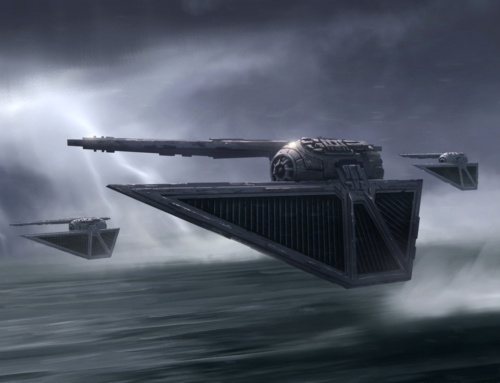 The TIE Striker: Laying a Beating in Surface Warfare